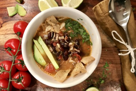 Kim Chicken Tortilla Soup Recipe | https://www.jackieunfiltered.com/kims-chicken-tortilla-soup-recipe/