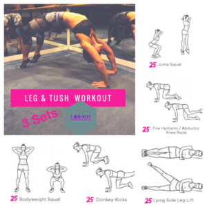 Leg & Tush Workout | www.jackieunfiltered.com